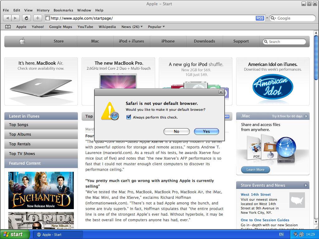 Apple Safari - How Did I Get That Icon? - Dynamoo com